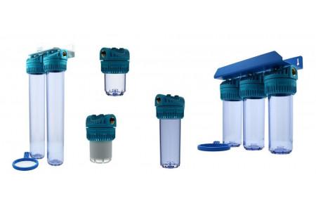 Ohišja filtrov, filtrirni vložki, komponente filtrov za vodo
