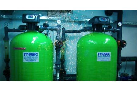 Mehčanje vode za komercialno in industrijsko uporabo