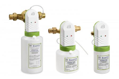BravaDos elektronske črpalke za mikromehčanje vode