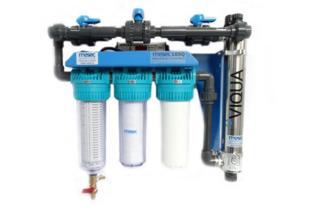 MESEC HVP-UV, vodni filtri in UV dezinfekcija vode