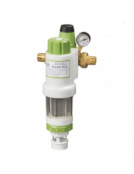 BravoFil PLUS, ročni samočistilni filter z regulatorjem tlaka