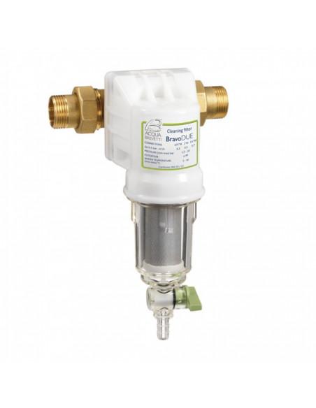 BravoDUE, mehanski vodni filter z izpustom