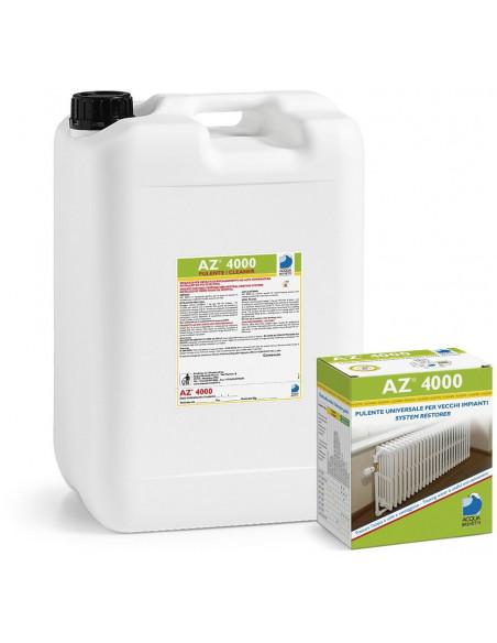 AZ 4000, za odstranjevanje rje, oksidov, mulja